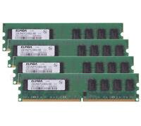 Elpida 8GB 4x 2GB PC2-6400 DDR2 800Mhz Memory For Dell OptiPlex 740 745 755 760