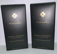 (2) Paul Mitchell MarulaOil Rare Oil Treatment 1.7oz Each.