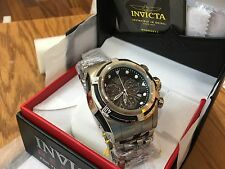 23908 Invicta Men's 53mm Bolt Zeus Swiss Parts Chronograph SS Bracelet Watch