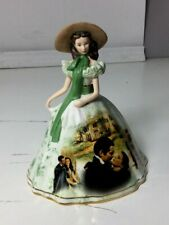 """2004 Gone With The Wind Scarlett Picnic Dress 6"""" Tall"""
