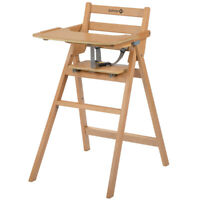 Mothercare Valencia Folding Wooden Highchair (Natural)