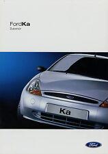 Prospetto FORD KA ACCESSORI 3/02 auto PROSPEKT 2002 opuscolo brochure AUTO ACCESSOR