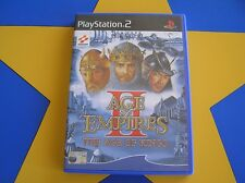 AGE OF EMPIRES 2: THE AGE OF KINGS - PLAYSTATION 2 - PS2
