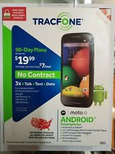 Tracfone Simple Mobile Motorola E Android 4G LTE Smartphone State Cell Phone