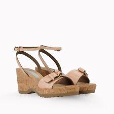 Stella McCartney Linda Moc Croc Sandals - Size 38