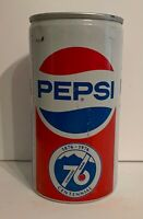Vintage Pepsi Cola Soda Pop Can 12oz Collectible Advertising Rare