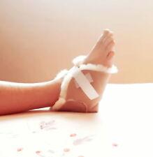 Kenley Sheepskin Heel Foot Protector Cushion Pad for Pressure Sores Bed Sore