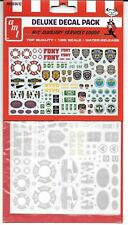 AMT #34 NYC Auxiliary Services Logos Decal Sheet  1/25