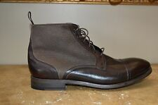 Paul Smith Men's Brown Leather Ankle Boots, US11/ UK10