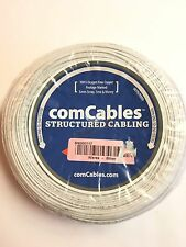 Structured Cabling 500ft 22AWG 2C SOLID CMR FOOTAGE MARKED OXYGEN FREE COPPER