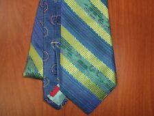 Robert Graham Striped Pattern Hand Made Woven Silk Tie ~NEW~ USA