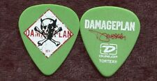 Damageplan 2004 Power Tour Guitar Pick! Dimebag Darrell custom concert stage