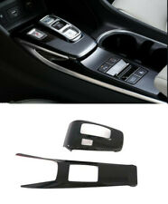 LHD Interior Gear Shift Box Panel Cover Trim 2pcs For HyundaiSonataDN82020