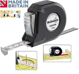 HULTAFORS 3m Talmeter Universal Marking Compass Metric Tape Measure, HULTALM3