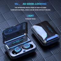 Bluetooth 5.0 Headset TWS Wireless Earphones Mini Earbuds Stereo Headphones USA
