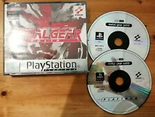 Sony PS1 PlayStation 1 Game *Metal Gear Solid* Platinum