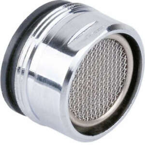 Kitchen Tap Aerator 28mm Male Anti Splash Water Saver Chromed Brass Spout Filter