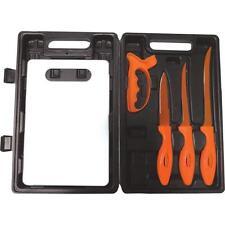 6pc Flex Fillet Brand Fish Fillet Knife Set With Case