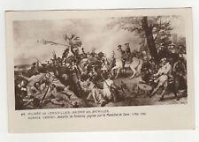 cpa Bataille de Fontenoy gagnée par le Maréchal de Saxe Edition des Musées /L457
