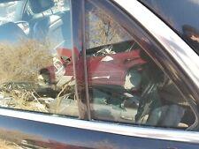 2008 2009 JAGUAR XJ8 XJR SUPER V8 VANDEN PLAS LEFT REAR DOOR VENT GLASS
