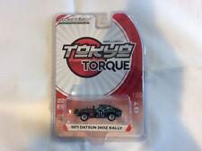 Greenlight 1:64 Tokyo Torque 1971 Datsun Safari Z #11 East African Rally CHASE