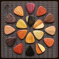 Timber Tones Wood Guitar Pick / Plectrum - 18 Different Woods - New Versions
