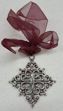 "Brighton Snowflake Ornament ""Week 1"" Christmas Holiday NEW WITH TIN Retired"