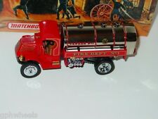Matchbox MOY FIRE ENGINE SERIES 1923 WATER TANKER -Red, 1/43 MIB