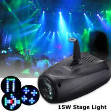 RGBW LED Bühnenbeleuchtung Sprachaktiviert Laser Lichteffekt Club Disco DJ Party