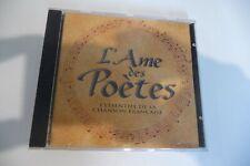 L'AME DES POETES CD AZNAVOUR BARBARA FERRE PIAF VIAN TRENET GRECO FERRAT...