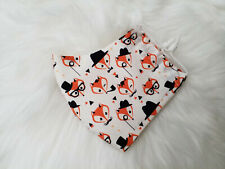 Childrens Kids Fabulous Mr Fox 100% Cotton Washable Reusable Face Mask + Filters