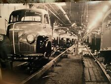 1945 Brand New Studebaker Trucks / Weasel Final Assembly 12X18 Photo Poster