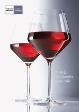 1 Rotwein-Glas BURGUNDER-POKAL Schott Zwiesel PURE 8545/140 Burgunder-Glas