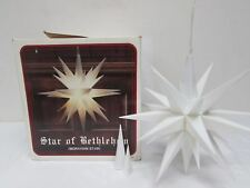 Star of Bethlehem Illuminated Moravian Star hanging light 14 3/4 Indoor Outdoor