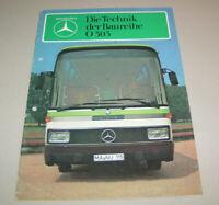 Prospekt / Broschüre Mercedes Omnibus Baureihe O 303 - Ausgabe 1980