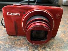 Canon PowerShot SX600 HS 16.0MP Digital Camera - Red - L63