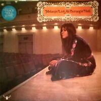 Melanie - Live at Carnegie Hall- Buddah Vinyl LP 2318 011 (Germany)