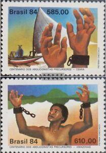 Brasilien 2021-2022 (kompl.Ausg.) postfrisch 1984 Sklavenbefreiung