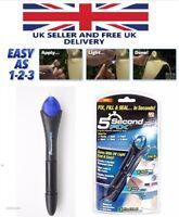 pen tool Quick 5 Second UV Light fix Liquid Plastic Welding compound glue repair