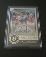 2019 Topps Museum Collection Brandon Nimmo Auto #184/299