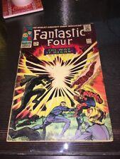Fantastic Four #53 1st appearance Klaw 2nd Black Panther