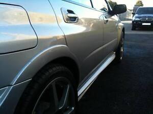Subaru Impreza STi WRX 01-07 Rear Wide Wheel Arch Trims,Flares, PU. HT Autos UK.