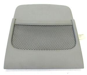 2007-2008 INFINITI G35 SEDAN OEM RIGHT FRONT SEAT BACK COVER PLASTIC GRAY COLOR