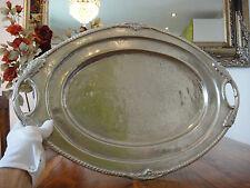 Tablett Servierplatte Silber Obstschale Antik Henkelschale Jugendstil Edel Luxus