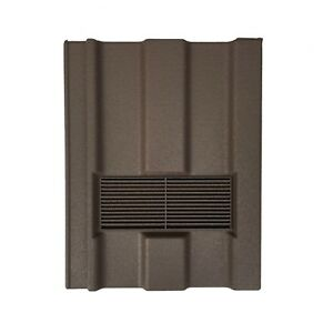 Roof Tile Vent To Fit Redland Renown | Brown Granular | 8 Colours Available