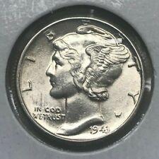 1943 Mercury Dime - Silver Uncirculated