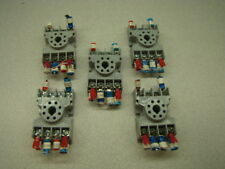 Potter & Brumfield 27E122 Relay Socket, QTY of 5, 10A, 300V