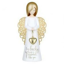 "YOU ARE AN ANGEL "" I AM LUCKY TO HAVE A FRIEND LIKE  YOU "" ASF001 MINT IN BOX"
