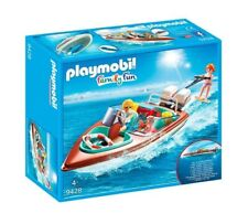 Playmobil Family Fun Lancha Motora con Motor - 9428 PLAYMOBIL