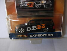 """DUB CITY #027 FORD EXPEDITION DUB CITY   """"New in Squished Package"""""""